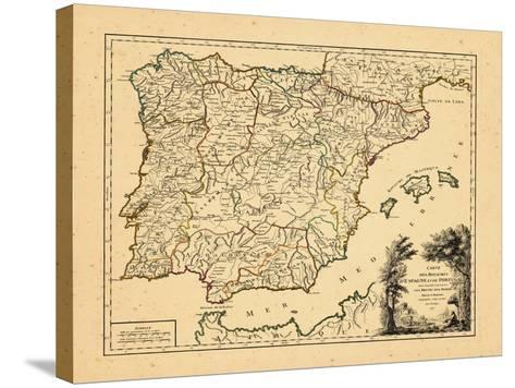 1757, Portugal, Spain--Stretched Canvas Print