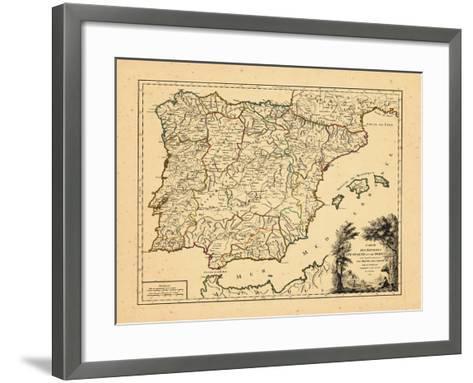 1757, Portugal, Spain--Framed Art Print