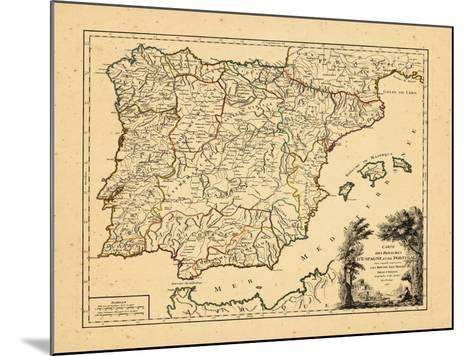 1757, Portugal, Spain--Mounted Giclee Print