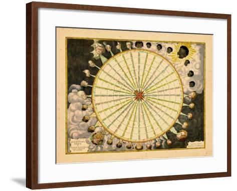 1680, World--Framed Art Print