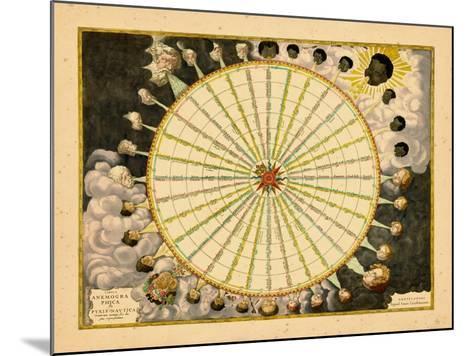 1680, World--Mounted Giclee Print