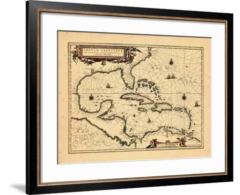 1652, West Indies--Framed Art Print