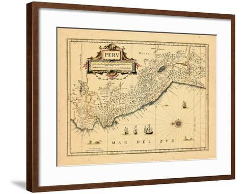 1658, Peru--Framed Art Print