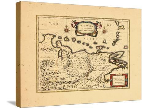 1640, Venezuela--Stretched Canvas Print