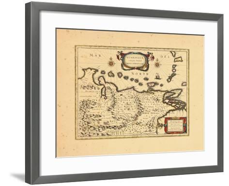 1640, Venezuela--Framed Art Print