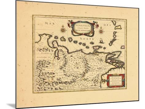 1640, Venezuela--Mounted Giclee Print