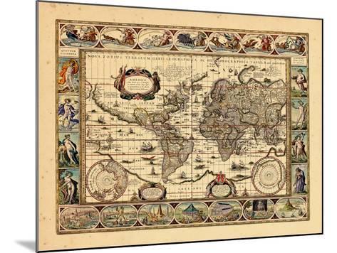 1640, World--Mounted Giclee Print