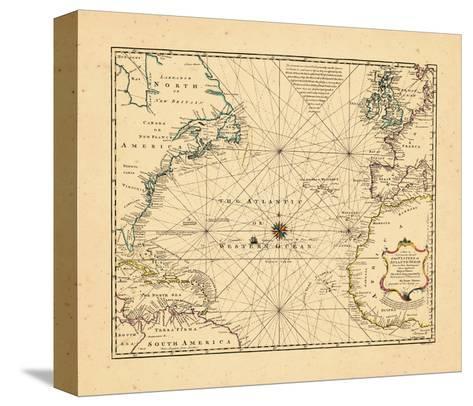 1748, Atlantic Ocean--Stretched Canvas Print