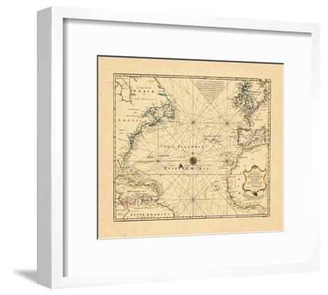 1748, Atlantic Ocean--Framed Art Print