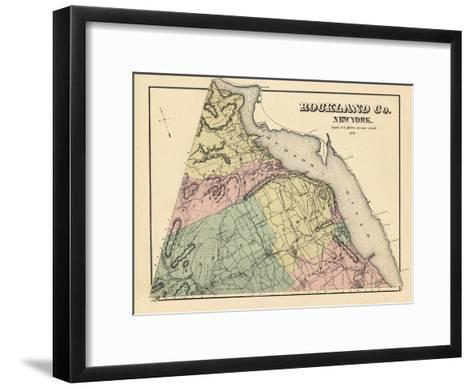 1876, Rockland County, New York, United States--Framed Art Print