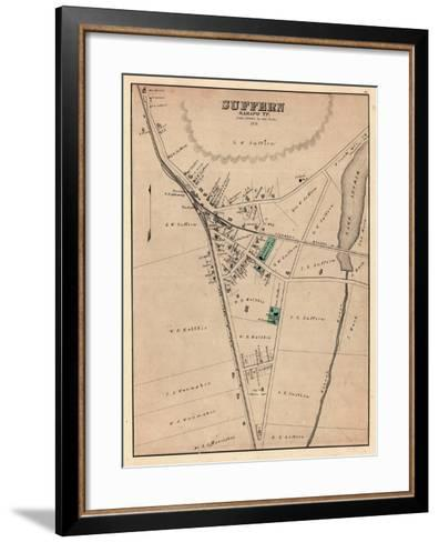 1876, Suffern, New York, United States--Framed Art Print
