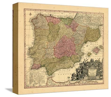 1740, Portugal, Spain--Stretched Canvas Print