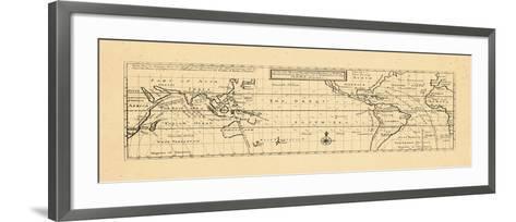 1736, Trade Winds, World--Framed Art Print