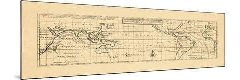 1736, Trade Winds, World--Mounted Giclee Print