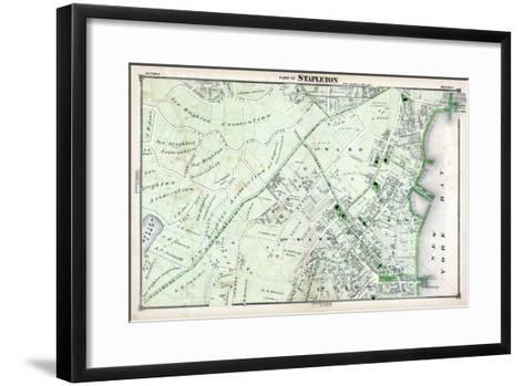 1874, Stapleton, New York, United States, Staten Island--Framed Art Print