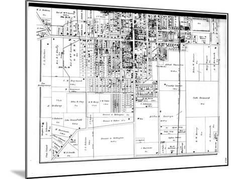 1886, Bowling Green, Ohio, United States--Mounted Giclee Print