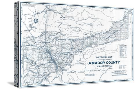 1950, Amador County 1950c, California, United States--Stretched Canvas Print
