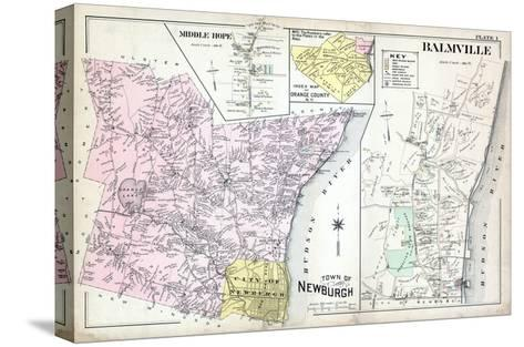 1903, Newburgh, Middle Hope, Balmville, New York, United States--Stretched Canvas Print