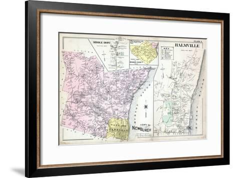 1903, Newburgh, Middle Hope, Balmville, New York, United States--Framed Art Print