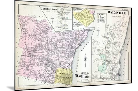 1903, Newburgh, Middle Hope, Balmville, New York, United States--Mounted Giclee Print