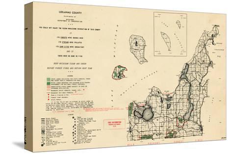 1955, Leelanau County, Michigan, United States--Stretched Canvas Print