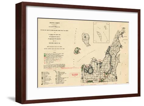 1955, Leelanau County, Michigan, United States--Framed Art Print