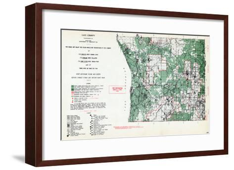 1955, Luce County, Michigan, United States--Framed Art Print