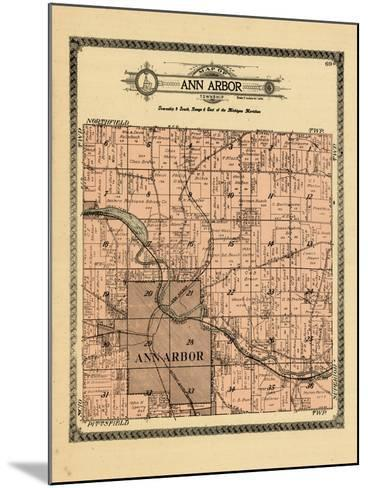 1915, Ann Arbor Township, Michigan, United States--Mounted Giclee Print