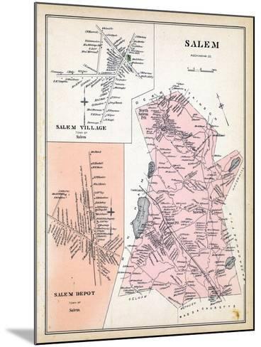 1892, Salem, Salem Village, Salem Depot, New Hampshire, United States--Mounted Giclee Print