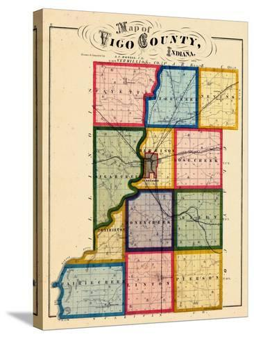 1874, Vigo County, Indiana, United States--Stretched Canvas Print
