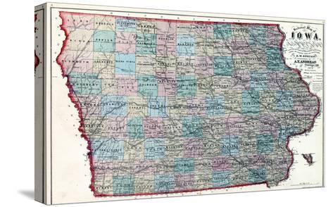 1873, Iowa, United States--Stretched Canvas Print