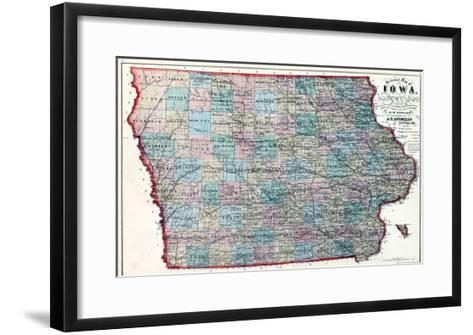 1873, Iowa, United States--Framed Art Print