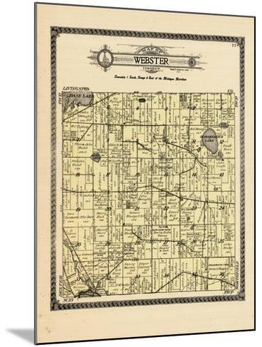 1915, Webster Township, Michigan, United States--Mounted Giclee Print