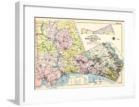 1911, Westchester County, New York, United States--Framed Art Print