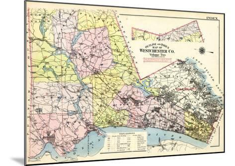1911, Westchester County, New York, United States--Mounted Giclee Print
