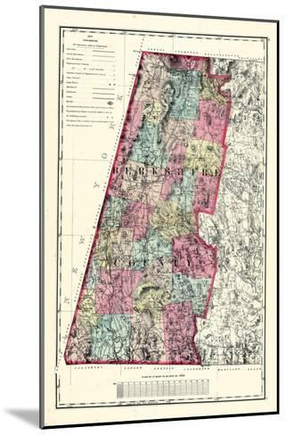 1871, Berkshire County, Massachusetts, United States--Mounted Giclee Print