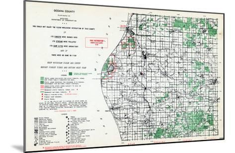 1955, Oceana County, Michigan, United States--Mounted Giclee Print