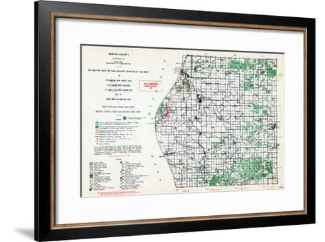 1955, Oceana County, Michigan, United States--Framed Art Print