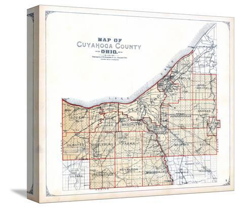 1898, Cuyahoga County, Ohio, United States--Stretched Canvas Print