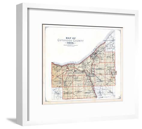 1898, Cuyahoga County, Ohio, United States--Framed Art Print