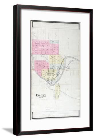 1896, Preston, Minnesota, United States--Framed Art Print