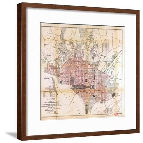 1891, Sewers, District of Columbia, United States--Framed Art Print