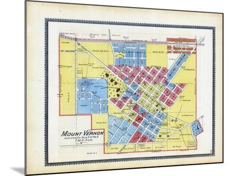 1895, Mount Vernon, Iowa, United States--Mounted Giclee Print