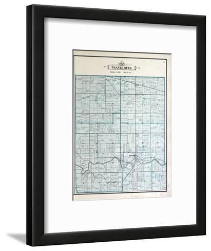 1896, Frankenmuth Township, Dead River, Michigan, United States--Framed Art Print