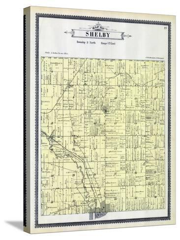 1895, Shelby Township, Utica, Depew Siding, Disco, Michigan, United States--Stretched Canvas Print