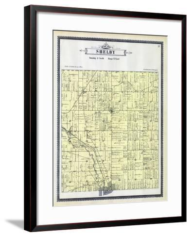 1895, Shelby Township, Utica, Depew Siding, Disco, Michigan, United States--Framed Art Print