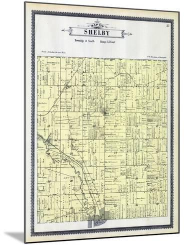 1895, Shelby Township, Utica, Depew Siding, Disco, Michigan, United States--Mounted Giclee Print