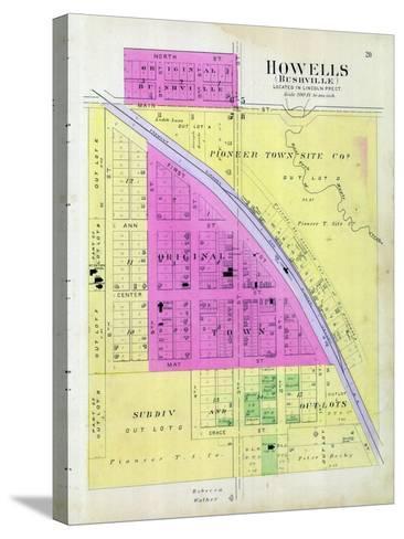1899, Howells, Bushville, Nebraska, United States--Stretched Canvas Print