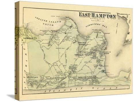 1873, East Hampton, New York, United States--Stretched Canvas Print