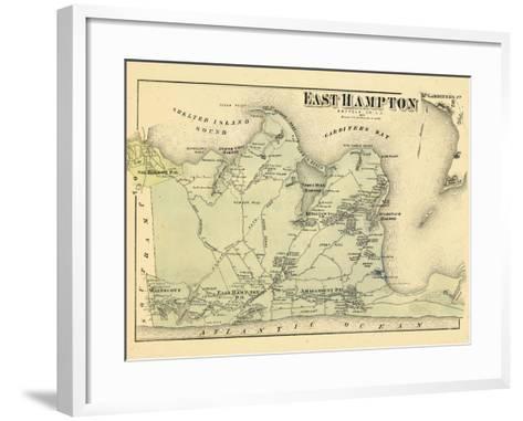 1873, East Hampton, New York, United States--Framed Art Print